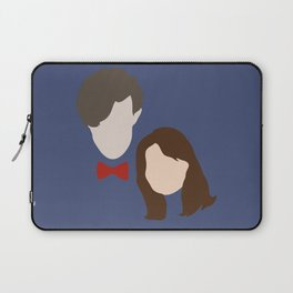 The Eleventh Doctor and the lovely Clara Oswin Oswald Laptop Sleeve