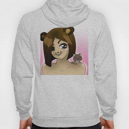 mouse girl anime Hoody