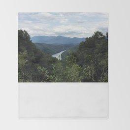 Great Smokey Mountains National Park Throw Blanket