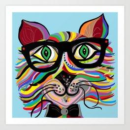 VERY Cool Cat Art Print
