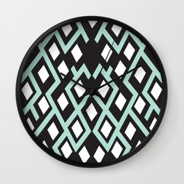 Cubed Lines Wall Clock