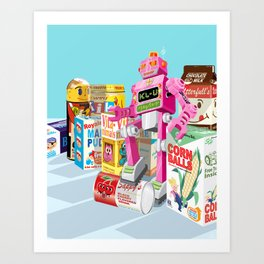 Sweet Invasion Art Print