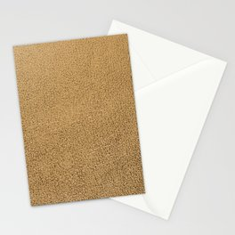 Gold leather texture Stationery Cards