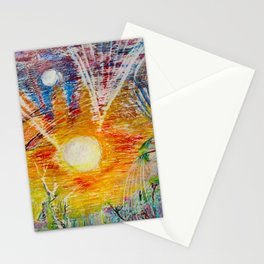 Sun Child Stationery Cards