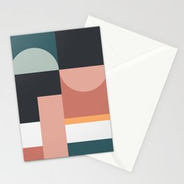 Abstract Geometric 07 Stationery Cards