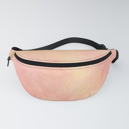 Abstract mosaic sunset Fanny Pack