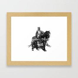Knights Templar Framed Art Print