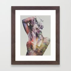 Wilderness Heart I Framed Art Print