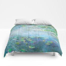Monet Water Lilies / Nymphéas 1906 Comforters