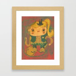 Vaquera Framed Art Print