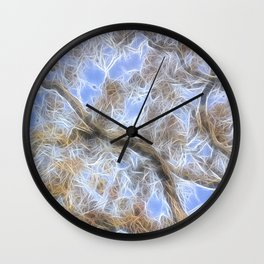 Liquid Light Wall Clock