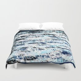 Flight Abstract Square Duvet Cover