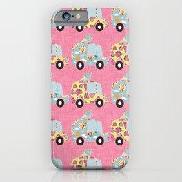 Ice Cream Truck Pink iPhone Case