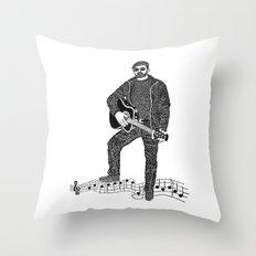 Rock 'N' Roll Throw Pillow