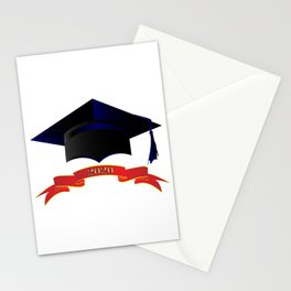 Cap Class Of 2020 Stationery Cards