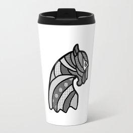 Panther's head Travel Mug