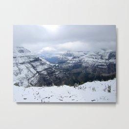 Boulder Pass Metal Print