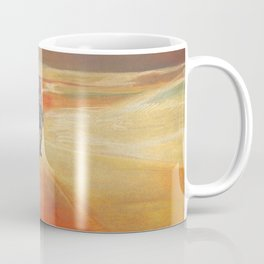 The Martian Mars walk inspired chalk drawing Coffee Mug