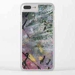 Leopord Skin Clear iPhone Case