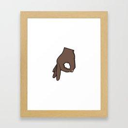 The Circle Game 2 Framed Art Print