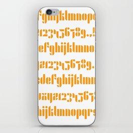 Bauhaus Joschmi Xants iPhone Skin