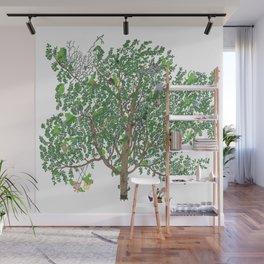 BB&PPINC Tree Print Wall Mural