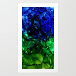 Sea Lettuce Art Print