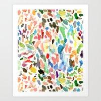 Test Swatches Art Print