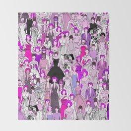 Tokyo Punks - Pride Club 1 Throw Blanket