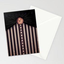 White Rabbit's Clock Stationery Cards