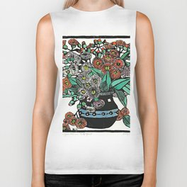 """Australian Gum Blossoms"" by Margaret Preston Biker Tank"