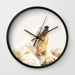 Bear a Charmed Life #society6 #decor #buyart Wall Clock