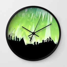 Dante's Inferno: Circle of Lust Wall Clock