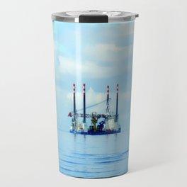 Into the Blue Travel Mug
