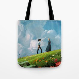 Howls Moving Castle Tote Bag