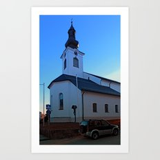 The village church of Lembach / Mkr I | architectural photography Art Print