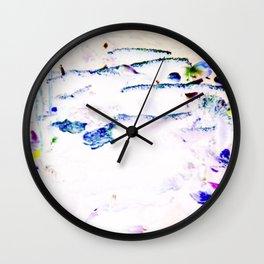 Aqua Lite Wall Clock