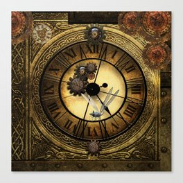 Steampunk design Canvas Print