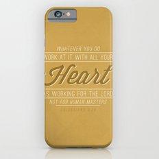 Colossians 3:23 iPhone 6s Slim Case