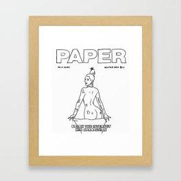 Break the internet Framed Art Print