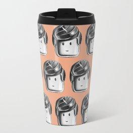 Minifigure Pattern - Hot Travel Mug