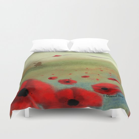 Windy Day Duvet Cover