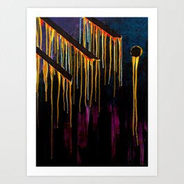 Fire of the Night Art Print