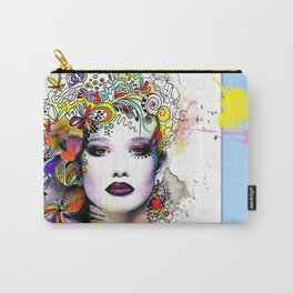 Fantasy Flower Girl Carry-All Pouch