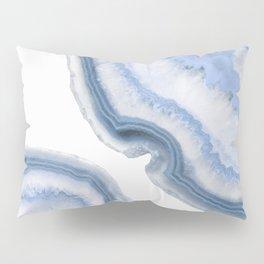 Airy Blue Agate Pillow Sham