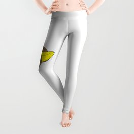 Banana And Kiwis Leggings