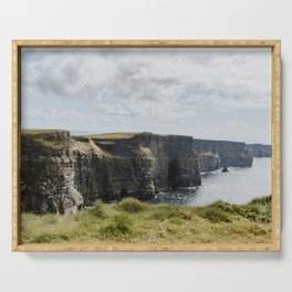 The Cliffs of Moher Serving Tray
