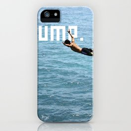 J.U.M.P. iPhone Case