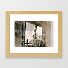 Sunday Lunch Framed Art Print