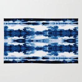 Indigo Stripe Wash Rug